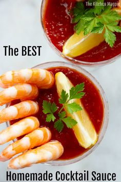 This really is the best homemade cocktail sauce that you can adjust the flavors to your liking! I have tips and tricks to make this low carb as well! Shrimp Cocktail Sauce, Homemade Cocktail Sauce, Cocktail Recipes, Cocktail Sauce Recipe No Horseradish, Spicy Recipes, Seafood Recipes, Appetizer Recipes, Cooking Recipes, Sauces