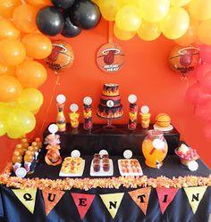 Miami Heat Party By Shamene Moyeda Cake 13th Birthday