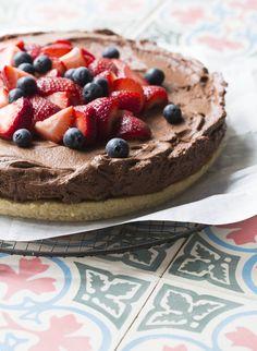 Gluten free cheesecake (with dairy-free option)