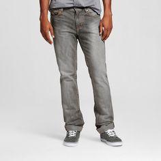 52dec1df48f075 Men s Slim Fit Jeans Grey Process With Crinkle - Standard and Grind Jean  Grey