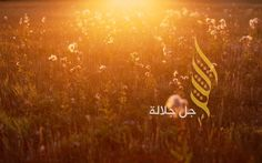 ALLAH   Jalla Jalaluh by Ahmed Shublaq, via Behance
