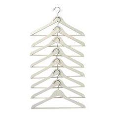 BUMERANG Cintre courbé - blanc - IKEA