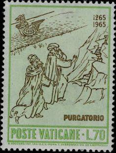Literary Stamps: Dante Alighieri (1265 – 1321)