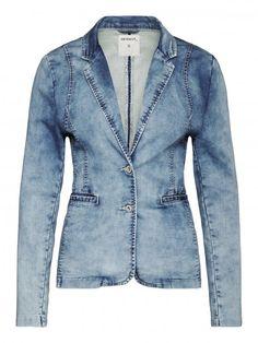 Denim blazer Blue denim - Sandwich fashion Spring '16