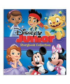 Another great find on #zulily! Disney Junior Storybook Collection Hardcover #zulilyfinds