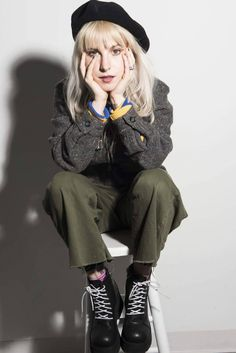 For everything Paramore check out Iomoio Hayley Paramore, Paramore Paramore, Hayley Williams Style, Sweet Style, My Style, Female Supremacy, Grunge Hair, Woman Crush, Grunge Fashion