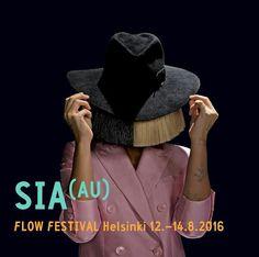 Australian singer/songwriter #Sia is confirmed for Flow Festival in Helsinki