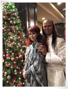 Johanna Kurkela & John Two-Hawks in Muskegon, MI (13.12.2015)Source: John Two-Hawks Official Facebook