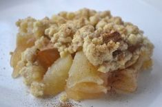 Apple Crumble German Deserts, Austrian Recipes, English Food, Scones, Macaroni And Cheese, Nom Nom, Oatmeal, Bakery, Brunch