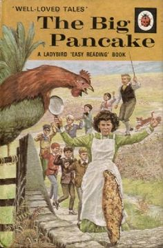 THE BIG PANCAKE Vintage Ladybird Book Well Loved Tales Series 606D Matt Hardback 1974  First Edition 1972