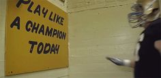 Notre Dame: Play Like A Champion Today | The 11 Coolest Traditions In College Football