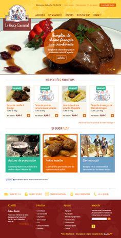 JB Gastronomie propose sans sa boutique en ligne, toute une gamme de produits cuisinés dédiés aux aventuriers, baroudeurs, marins ou autres nomades. Elaborées en partenariat avec notre Chef, nos recettes allient technicité et créativité et sont réalisées à partir d'ingrédients sélectionnés. Site réalisé par StartUp sous E-majine. www.jb-gastronomie.com
