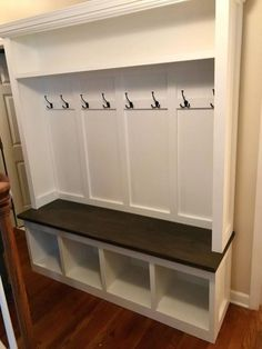 White Hall Tree with Storage Bench . White Hall Tree with Storage Bench . Twin Star Home Hall Tree with Storage Bench Hall Tree Storage Bench, Hall Tree Bench, Entryway Storage, Bench With Shoe Storage, Built In Bench, Locker Storage, Storage Benches, Entryway Furniture, Cabinet Storage