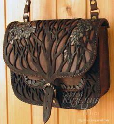 8dd5bdf8e hand made bag · Leather Art, Leather Pouch, Tooled Leather Purse, Leather  Carving, Leather Tooling,