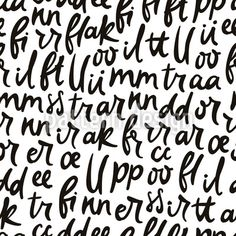 Dancing Letters Seamless Pattern by Ekaterina Chernysheva at patterndesigns.com Vector Pattern, Pattern Design, Your Design, Dancing, Typography, Letters, Writing, Letterpress, Dance