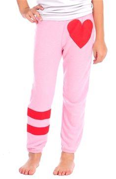 Shop new styles by Vintage Havana now! Vintage Havana, Heart Print, Girl Outfits, Pajama Pants, Pajamas, Sweatpants, Leggings, Pink, Spandex