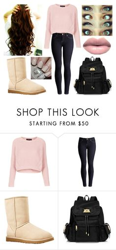 """Nash Imagine for Millielekita"" by magcon-boys-outfits ❤ liked on Polyvore featuring Topshop, Joules, UGG Australia, Juicy Couture and OPI"