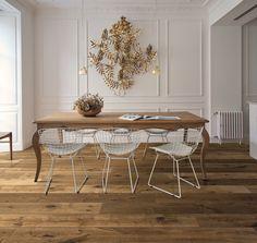 Parquet Kalika, Impression collection. #wood #kitchen #diningroom #nature #floor #oak