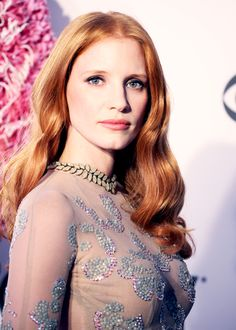 mooi rood is niet lelijk ♥ Red hair - Jessica Chastain