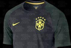 terceiro uniforme da seleção brasileira em 2014