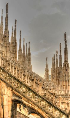 Duomo, Milano, Italy...una bella citta' ❤️