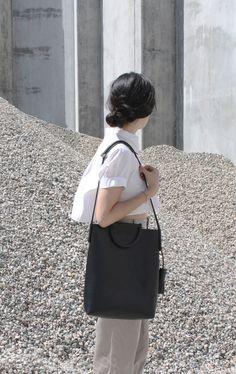 building block modern briefcase bag