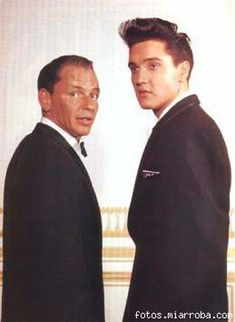 Elvis with Frank Sinatra