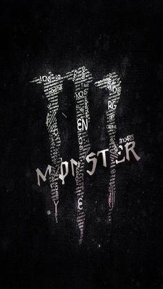 Black and white monster energy - Backgrounds unsorted - Monster Energy Drink Logo, Monster Energy Girls, Ios 11 Wallpaper, Typography Wallpaper, Bebidas Energéticas Monster, Cr7 Jr, Fox Racing Logo, Best Energy Drink, Monster Tattoo