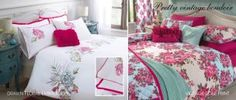 Vintage Rose Print Duvet And Pillowcase Set from the Next UK. $85