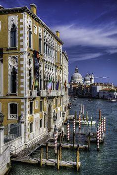 Grand Canal (Italian: Canal Grande), Venice, Italy