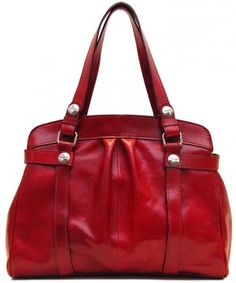 shoulder bags: Floto Milano Shoulder Bag in Tuscan Red Italian Calfskin Leather Leather Handbags, Leather Bag, Striped Canvas, Shoulder Handbags, Shoulder Bags, Casual Bags, Italian Leather, Leather Shoulder Bag, Women Accessories