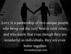 Partnership of two Unique People