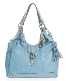 B�rn Sky Colusa Leather Hobo | zulily Love the color of this purse.