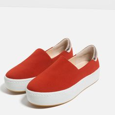 Image 3 of STRETCH SNEAKERS from Zara