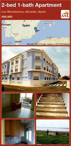 2-bed 1-bath Apartment in Los Montesinos, Alicante, Spain ►€66,900 #PropertyForSaleInSpain