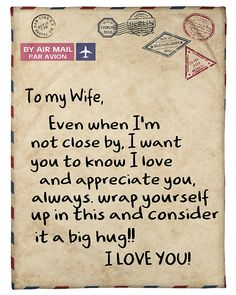 Son and love wife my Should You
