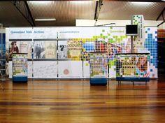 Large Display Using Multiple Exalt Banner Stands