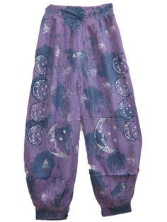 Designer Palazzo Pant Batik Print Purple Bohemian Trouser Gauchos Mogul Interior,http://www.amazon.com/dp/B00C4B2LGY/ref=cm_sw_r_pi_dp_gIcwrb5B894F439A