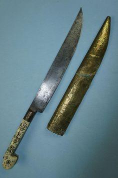 Arcane Trickster, Indian Sword, Types Of Swords, Dagger Knife, Swords And Daggers, Nickel Silver, Floral Motif, Arsenal, Knives