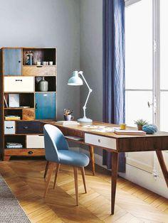 Fast jede Wohnung bietet Platz für einen Schreibtisch zum Stellen oder Hängen. Wir zeigen Ihnen tolle Ideen für Ihr Homeoffice. Lassen Sie sich inspirieren!