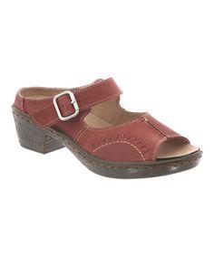 Look at this #zulilyfind! Tex Mex Vineyard Leather Sandal by Klogs #zulilyfinds