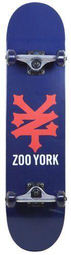 Zoo York Cracker Heritage Complete Skateboard (Navy) by Zoo York. $48.96. ABEC 5 Bearings. Save 30%!