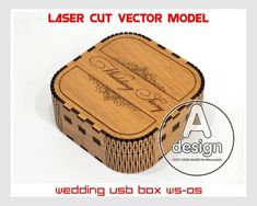 For sale is engraved plywood box (Laser cut vector model only). Thank you for visiting our store. Create of plywood inch.) Create of plywood inch. Laser Art, Laser Cut Wood, Usb Box, Wooden Wine Boxes, Laser Cutting Machine, Love Stamps, Laser Cut Files, Small Boxes, Cutting Files