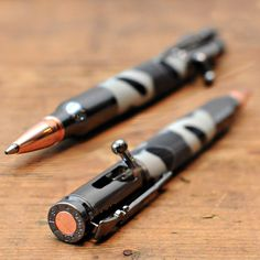 Camo Bolt Action Pen••Takes Aim on Your Notes