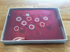 receptieboek ae 651 satijn rood