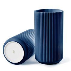 The Lyngby Vase 20cm, Midnight Blue, Lyngby Porcelæn