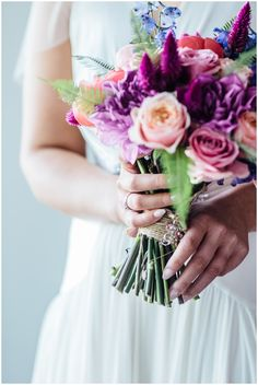 Bridal details, colourful flowers, summer city wedding, Edinburgh Buick, Colorful Flowers, Edinburgh, Crown, Bridal, City, Summer, Photography, Wedding