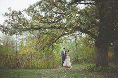 a swing makes for a fun wedding portrait! :)