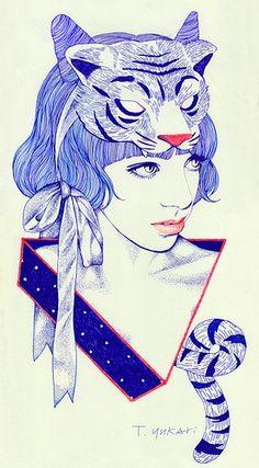 Tiger-Girl by Yukari Terakado