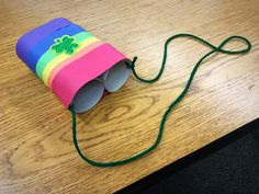 Kindergarten STEM engineering leprechaun binoculars